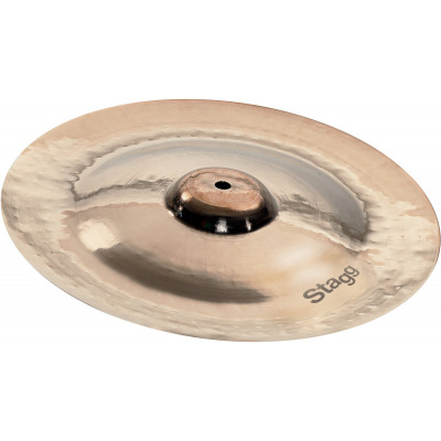 "Stagg Dual Hammered 8"" DH Brilliant China - DH-CH8B"