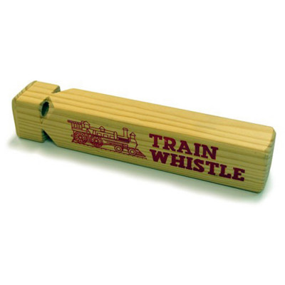 Wooden Toy Train Whistle