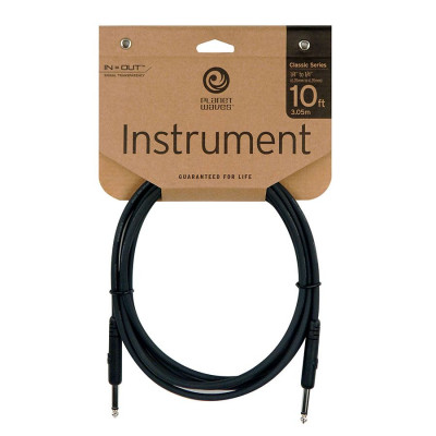 "Planet Waves 10' Classic Series 1/4"" Instrument Cable"