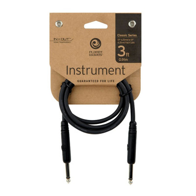 "Planet Waves 3' Classic Series 1/4"" Patch Cable"