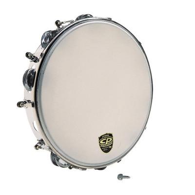 "CP Tunable Metal Tambourine 10"" CP392"