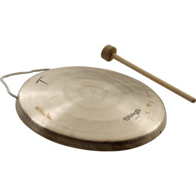 "Stagg 11.8"" Opera Hand Gong w/ stick - OSG-300"