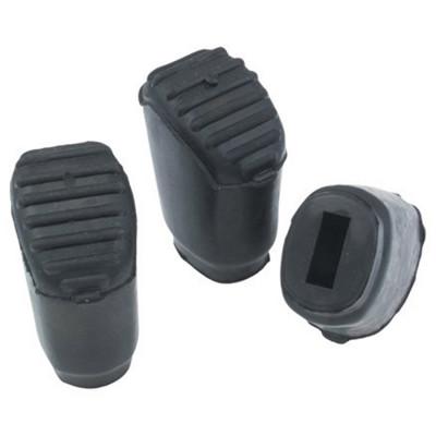 Gibraltar SC-PC07 Medium Rubber Feet for Double-Braced Legs 3pk