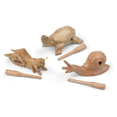 Meinl NINO Wood Snail Natural