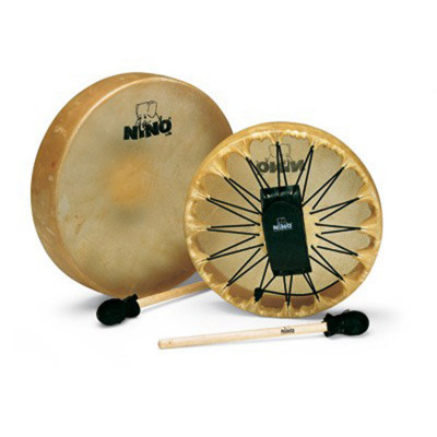 "Meinl NINO Frame Drum 12 1/2"" Buffalo Skin Head Natural"