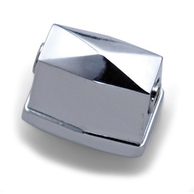 Die Cast Square Tom Lug - Chrome