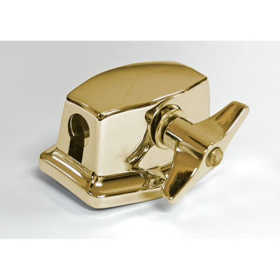 Floor Tom Leg Bracket - Brass