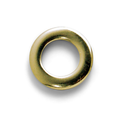 Metal Tension Rod Washers - Brass Plated - WS-008BR