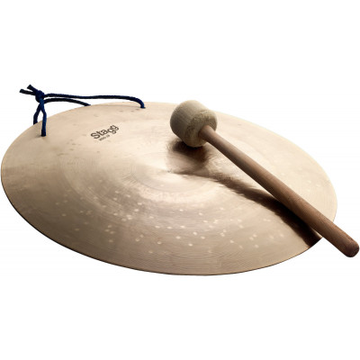 """Stagg 16"""" Wind Gong w/ beater - WDG-16"""