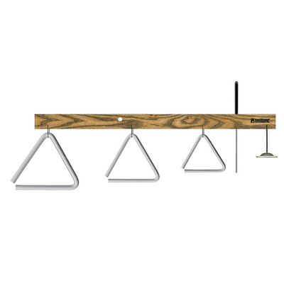"Treeworks Triangle Tree w/ 6"",5"" 4"" Triangles and Finger Cymbal"