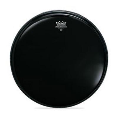 Remo AMBASSADOR Snare Side Head - No Collar - EBONY 14 inch