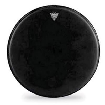 Remo EMPEROR Drum Head - Crimplock - Black Suede 14 inch