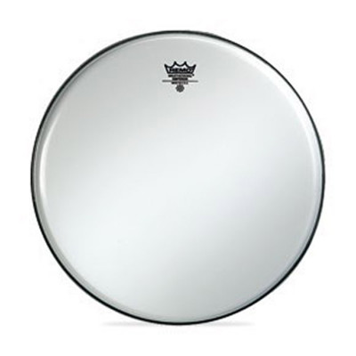 Remo EMPEROR Drum Head - Crimplock - Smooth White 12 inch
