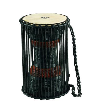 "Meinl African Talking Drum 7"" x 12"" Medium Brown/ Black"