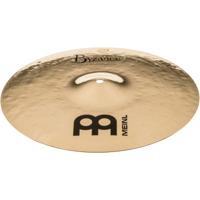 "Meinl Byzance Brilliant 14"" Heavy Hammered Hihat, Brilliant - B14HHH-B"
