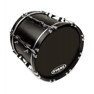 "Evans 16"" MX2 Marching Bass Drum Head Black"