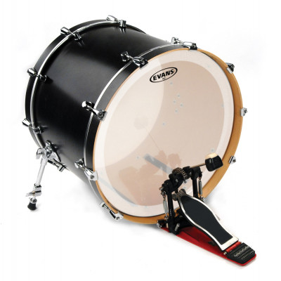 "Evans 18"" EQ3 Bass Drum Head Coated"