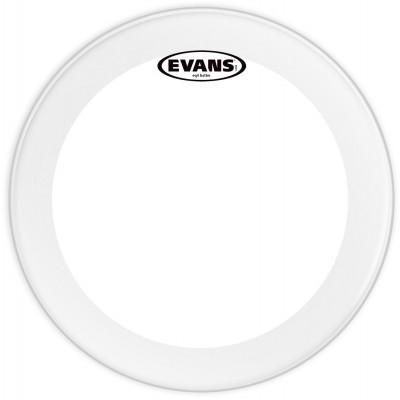 """Evans 18"""" EQ4 Bass Drum Head Clear"""