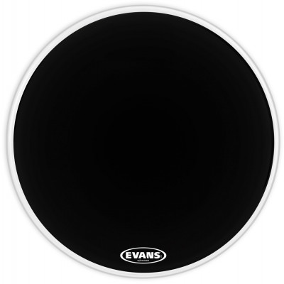 "Evans 16"" EQ3 Resonant Black Tom Hoop - No Port - TT16RB-NP"