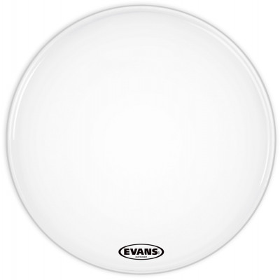 "Evans 16"" EQ3 Resonant Smooth White Bass Drum Head - No Port"