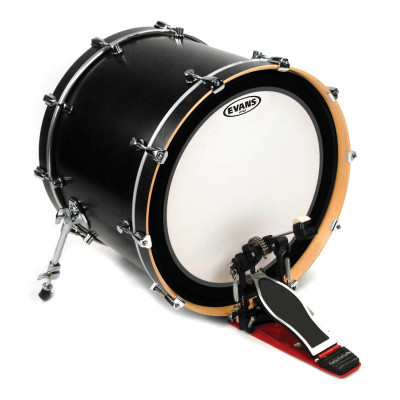 """Evans 24"""" EMAD Bass Drum Head Coated"""
