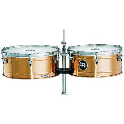 "Meinl Professional Timbales 14"" & 15"" German B8 Cymbal Bronze"