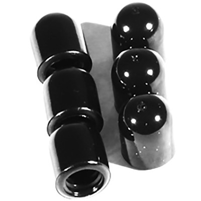 """Meinl Cover Cap Rubber - 6 pc Set For 0.31"""" Clamp Screw"""