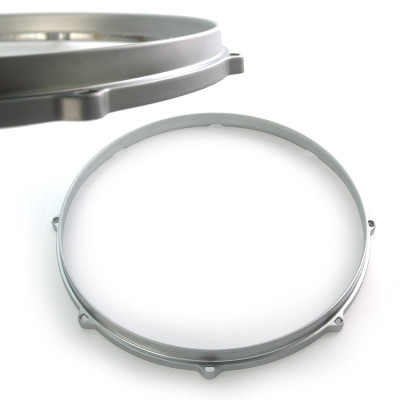 "13"" Die Cast Hoop 8 Lug Snare Side - Satin Chrome"