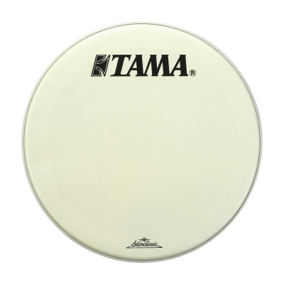 "Tama 22"" Coated White Bass Drum Front Head w/ Starclassic Logo"