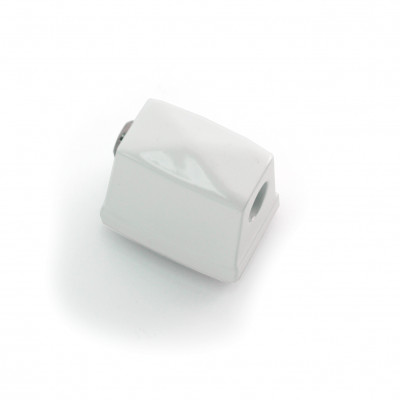 Die Cast Square Bass Drum Lug - White Powdercoat