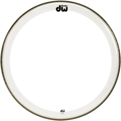 "DW 24"" Clear Edge Bass Drum Head"