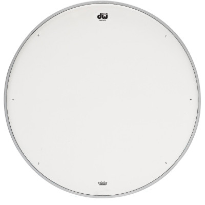 """DW 10"""" Coated Snare Head w/ Tuning Seq"""