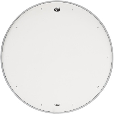 """DW 15"""" Coated Drum Head w/ Tuning Sequence"""