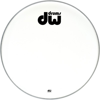 "DW 20"" Texture Coated BD Logo Head"