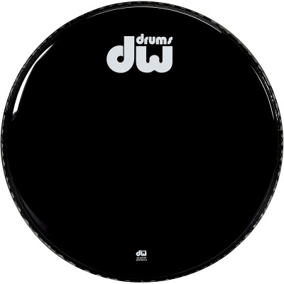 "DW 24"" Gloss Black BD Head-Non Vented"