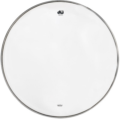 """DW 13"""" Clear Snare Bottom Head"""