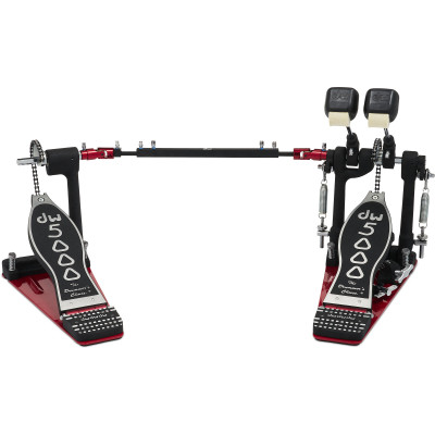 DW 5002 Double Pedal w/ Bag Single Chain