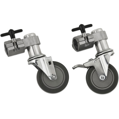 DW Rack Casters w/ Brake - Pair
