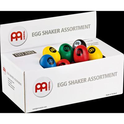 Meinl Plastic Egg Shaker Assortment Box, Hold 60 Shakers