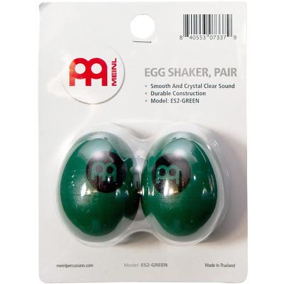 Meinl Egg Shaker Pairs, Green