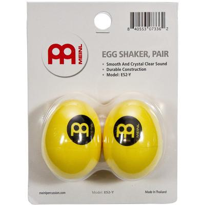Meinl Egg Shaker Pairs, Yellow