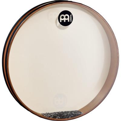 "Meinl Sea Drum 18"" x 2 3/4"" True Feel Synthetic Head African Brown"