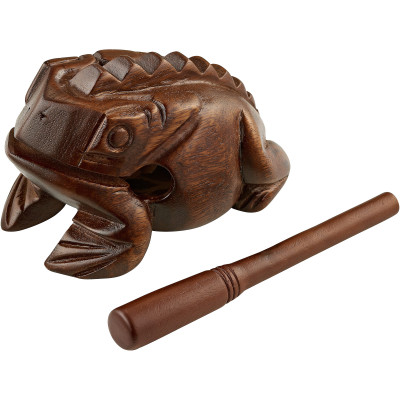 Meinl Wooden Frog Large, African Brown