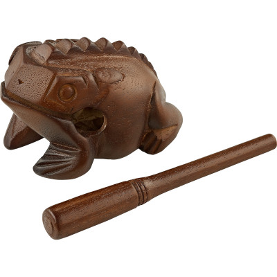 Meinl Wooden Frog Medium, African Brown