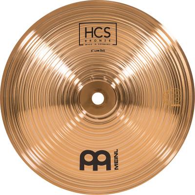 "Meinl HCS Bronze   8"" Low Bell - HCSB8BL"