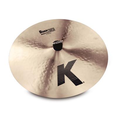 """Zildjian 17"""" K Dark Crash Med Thin - K0914"""