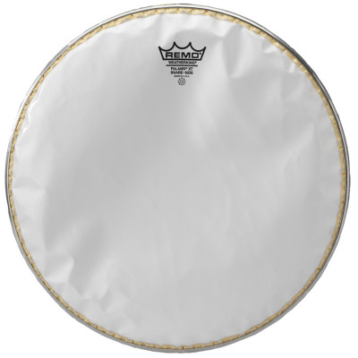 Remo FALAMS XT Snare Side Head - Crimped - SMOOTH WHITE 14 inch