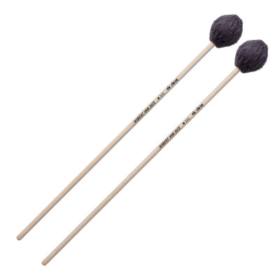 Vic Firth Robert Van Sice Mono-Tonal Rubber Core Marimba Mallets - Very Soft