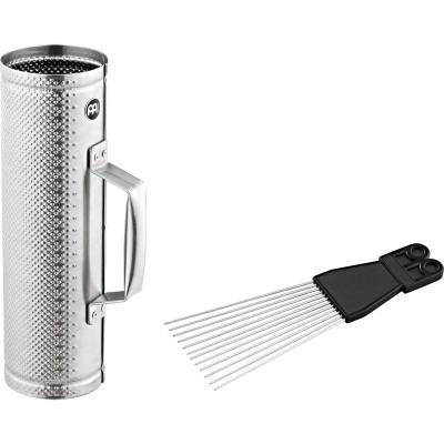 Meinl Brushed Steel Merengue Güira Small incl. MGS2 Scraper