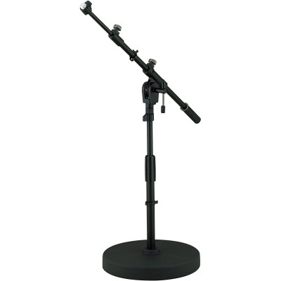 Tama Iron Works Round Base Low-Profile Telescopic Boom Mic Stand